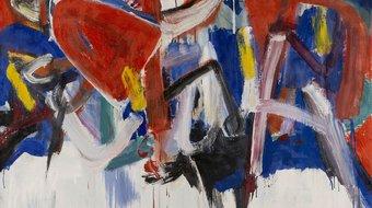 Helmut Sturm, Ohne Titel (Buchstabenbild), 1978/82, Öl auf Leinwand, 100 × 125 cm, Privatsammlung, Gauting © VG Bild-Kunst, Bonn 2020