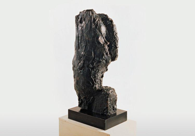 Per Kirkeby, Læsø-Kopf I, 1983, Bronze