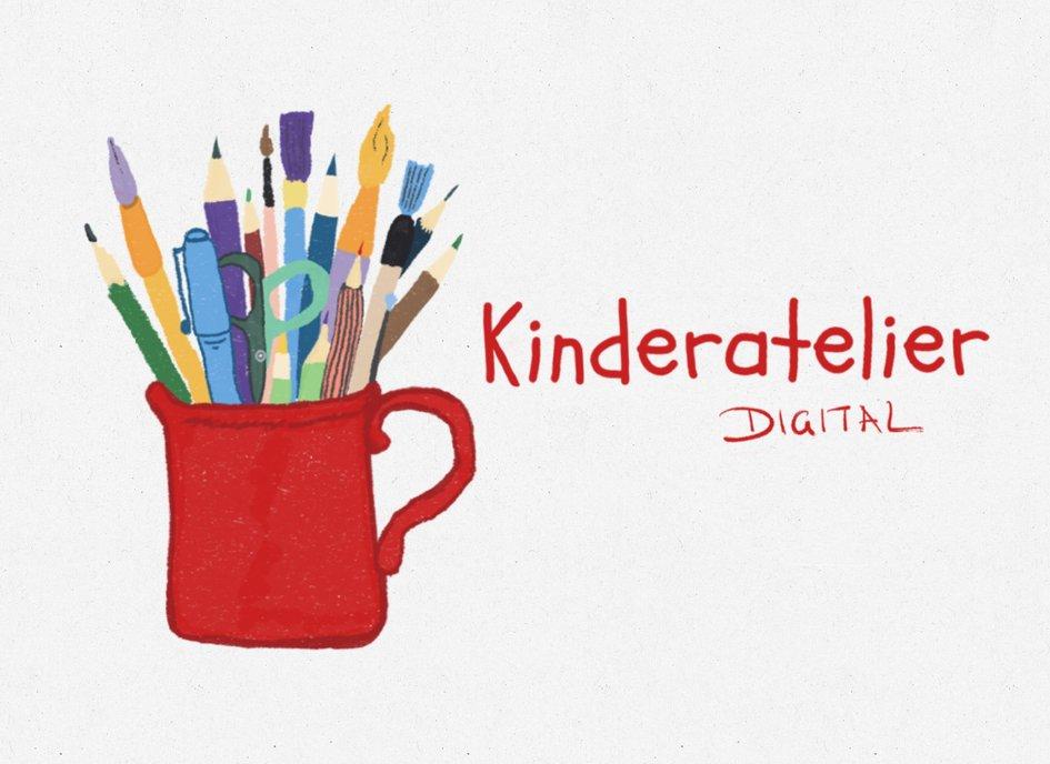 Kinderatelier digital: Kunstwerke weitergedacht