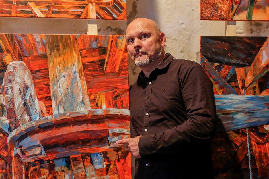 Fällt leider aus (Lockdown): Workshop Porträt-Malerei in Acryl