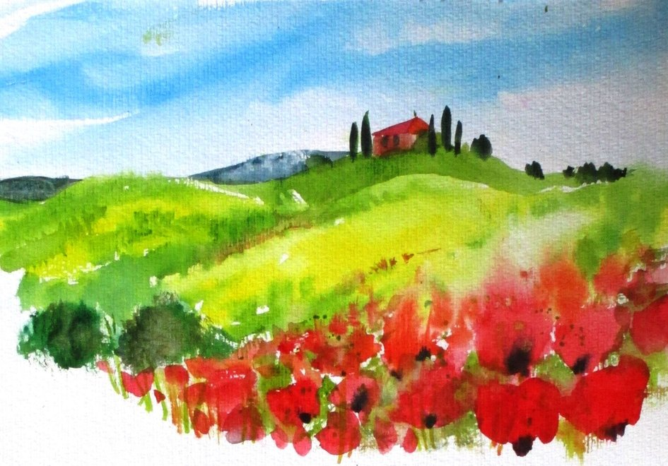 FÄLLT AUS: Workshop Mediterrane Motive in Aquarell