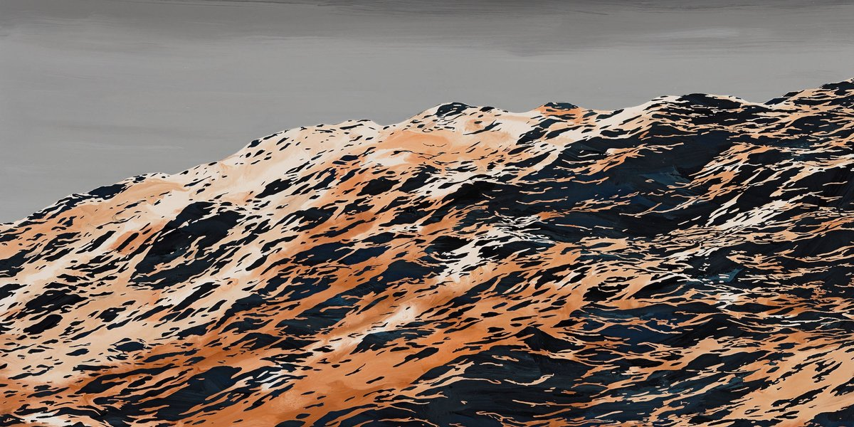 Sven Drühl, S.D.G.M., 2018, 170 x 120 cm, Lack auf Leinwand, courtesy ALEXANDER OCHS PRIVATE, Berlin, und Tony Wuethrich Galerie, Basel © VG Bild-Kunst, Bonn 2021
